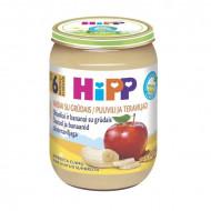 HiPP obuolių ir bananų tyrelė su grūdais 6m+ 190g 4803 4803