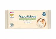 AQUA WIPES drėgnos servetėlės 64 vnt. AQW64F AQW64F