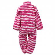 HUPPA Overall fleece Roland Fuchsia dot pattern 3304BASE-63363 3304BASE-63363-074
