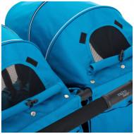 VALCO BABY vežimėlis dvynukams Snap Duo 9886 Ocean Blue 9886