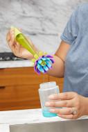 BOON soap dispensing silicone bottle brush B11162