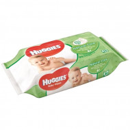 HUGGIES drėgnos servetėlės Natural Care 56vnt 5029053550152