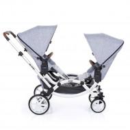 ABC DESIGN stroller twins Zoom graphite grey 2147483647