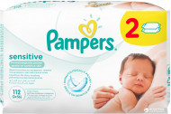 PAMPERS servetėlės Sensitive 2X56vnt P05U942 P05U942