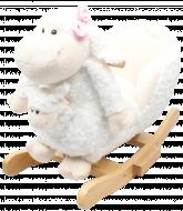 JOLLY RIDE supuoklės-avytė su mažyliu, baltos, JR2579B