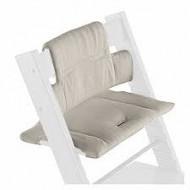 STOKKE maitinimo kėdutės paminkštinimas Tripp Trapp Timeless grey (organic cotton) 100351 100351