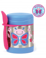 SKIP HOP maisto indelis 36m+ 325ml Zoo Butterfly 252381 252381
