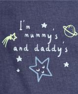 MOTHERCARE 3 piece set boy Mummy & Daddy QB104 256097