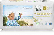 Eco by NATY diapers 4 Maxi dydis, 44pcs 8178433