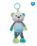 CANPOL BABIES pakabinamas muzikinis žaislas Bears Grey 68/053_grey 68/053_grey
