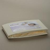 VILAURITA medvilninė paklodė su guma Mix ART 493 120x60 cm ART 493