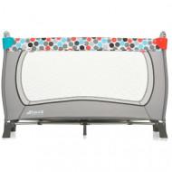 HAUCK Travel cot Sleep'n Play Plus Gumball grey 600443 600443