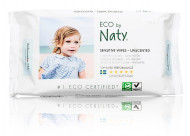 Eco by NATY bekvapės drėgnos servetėlės 56vnt 245012