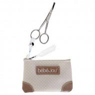 BEBEJOU scissors in case Natural 310439 310439