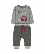 MOTHERCARE bodysuit and trousers boy Little Car SA324 473448
