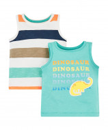 MOTHERCARE marškinėliai be r. bern. 2vnt. West Coast SD435 227381