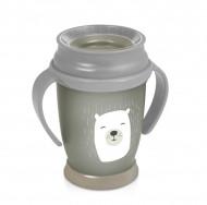 LOVI puodelis 360 su rankenėlėmis 250 ml Junior Buddy Bear 1/599new 1/599new