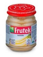 FRUTEK bananų tyrelė 4m+ 120g 3838945504188