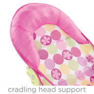 SUMMER gultukas į vonelę Circle Daisy Pink 09716 09716