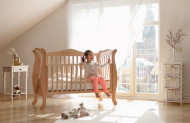 YAPPY KIDS lovytė nuleidžiamu šonu YappyLale Natural YappyLaLe Natural
