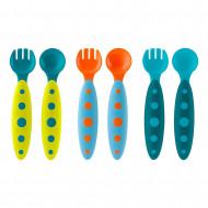 BOON toddler utensils 6 pcs. 9m+ B10129 B10129