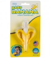 BABY BANANA dantų šepetėlis kūdikiams Banana Original 3-12 m. BR003 BR003