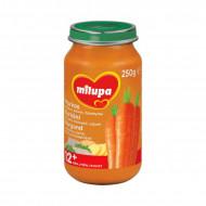 MILUPA morkų tyrelė su veršiena ir bulvėmis 12m+ 250g V29E7D3
