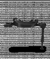 KIDDY Isofix Bazė 2 Black 41902IB000