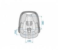 MAXI COSI automobilinė kėdutė - nešynė Rock Black Grid 8555725160 2147483647