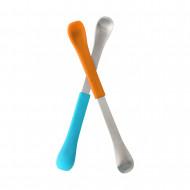 BOON šaukšteliai 2 vnt. 4m+ Blue and Orange B298