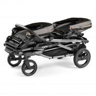 PEG PEREGO sportinis vežimėlis dvynukams Duette Piroet Luxe Grey IP08280062BA53PL93