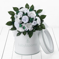BABYBLOOM Luxury Rose Bouquet 11pcs Neutral BQC20008
