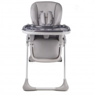 KINDERKRAFT High chair YUMMY grey KKKYUMMGRY0000