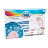 CANPOL BABIES 3in1 musical mobile with projector, pink, 75/100_pin 75/100_pin
