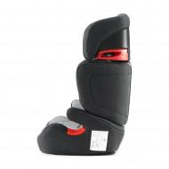 KINDERKRAFT automobilinė kėdutė Junior Fix (ISOFIX) Black/Grey KKFJUFIBLGR000