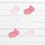 BABYBLOOMS naujagimio drabužėlių puokštė 6d Baby Bud Posy Pink BBP20002