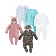 Sleepsuits and onesie