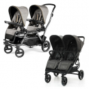 Strollers for twins, triplets