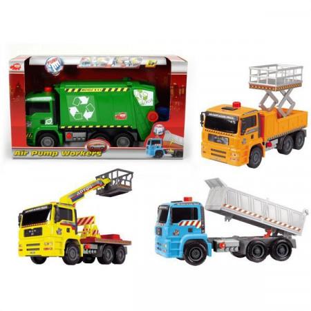 """SIMBA DICKIE TOYS transporto priemonė """"Air Pump Workers"""" 203415781 203415781"""