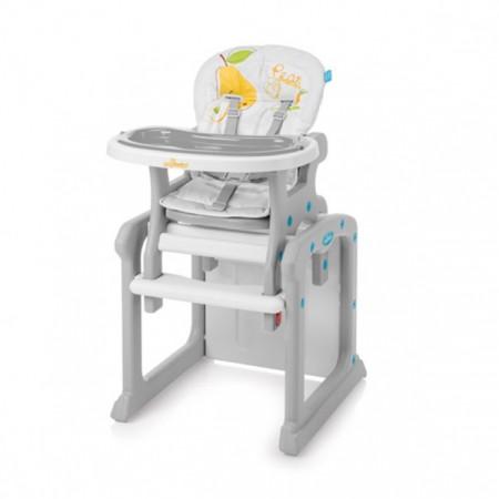 BABY DESIGN maitinimo kėdutė Candy 07 Gray 5901750299285