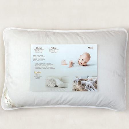 LORITA pagalvė su vilna 40x60cm 804 804