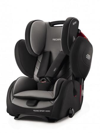 RECARO automobilinė kėdutė Young Sport Hero Carbon Black