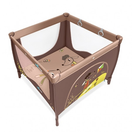 BABY DESIGN žaidimų maniežas Play Up New 09 Beige 5901750290817