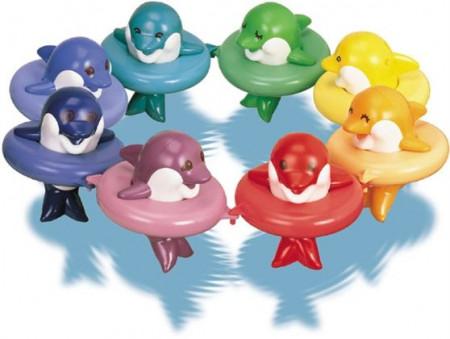 TOMY vonios žaislas Delfinai, E6528
