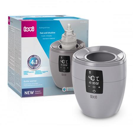LOVI buteliukų šildyklė-sterilizatorius 4in1, 77/051_grey 77/051_grey
