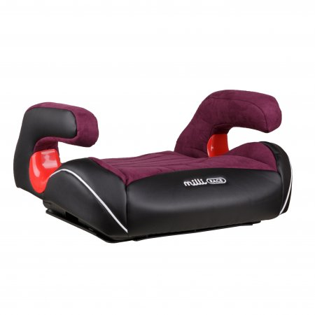 MILLI automobilinė kėdutė-busteris Race Black/Red 4752062142506