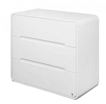 YAPPY KIDS komoda YappyOwl White dresser white
