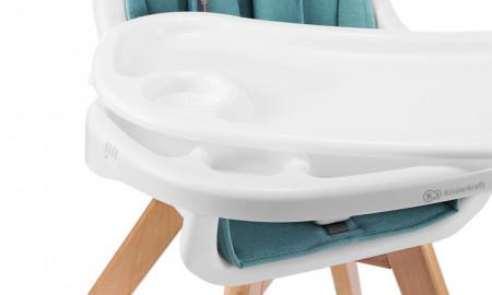 KINDERKRAFT maitinimo kėdutė 2in1 TIXI, pilka KKKTIXIGRY0000