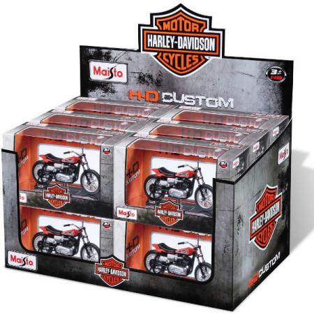 MAISTO DIE CAST motociklas 1:18 Harley Davidson, 34360 34360