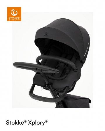 STOKKE vežimėlis XPLORY® X, rich black, 571401 571401